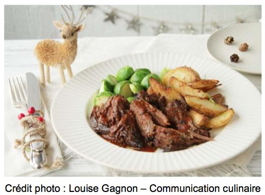 Boeuf Braisé ZERO8 - Crédit photo Louise Gagnon - Communication culinaire