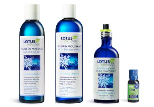 Lotus aroma eucalyptus