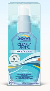 coppertone Clearly Sheer