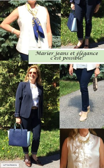 Marier jeans et elegance