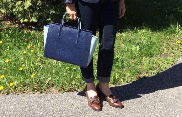 souliers et sac structure
