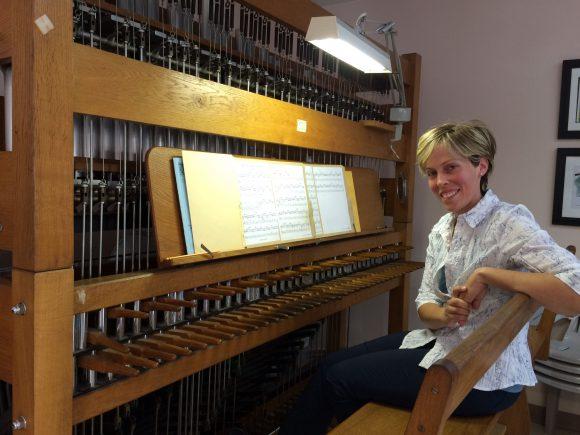 Andrée-Anne Doane, carilloniste titulaire de l'Oratoire Saint-Joseph
